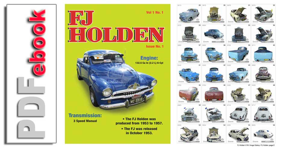 Vintage Knitted FJ Holden JumperSweater Pattern Instant Download PDF 4 pages
